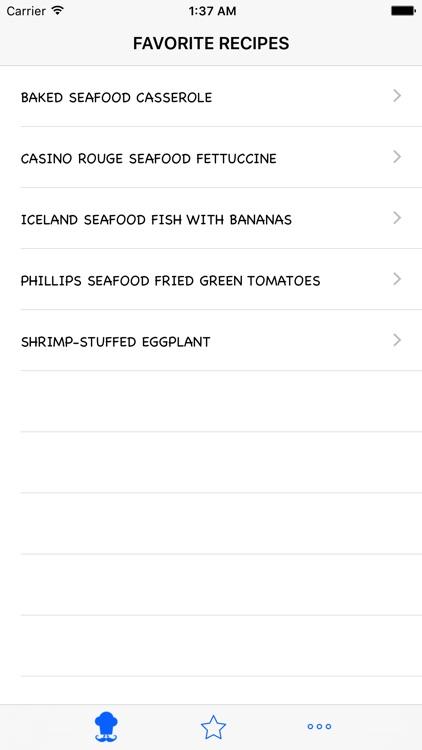 Seafood Recipes screenshot-3