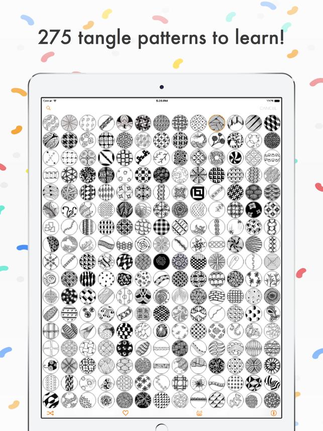 Tangle Patterns Mega Pack Screenshot