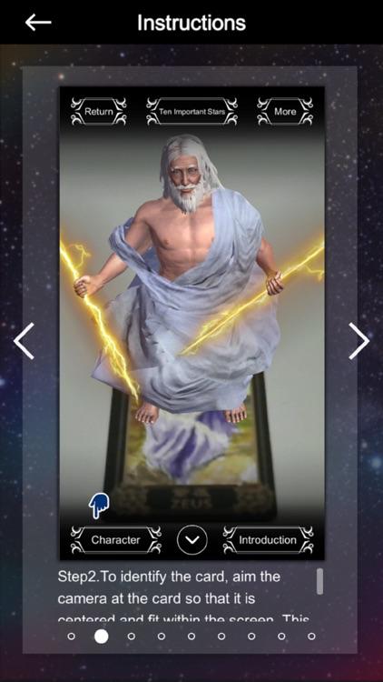 Zeus Sensor Tarot - Augmented Reality