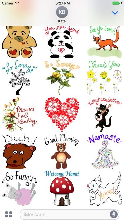 Positive Vibes Sticker Pack screenshot-3