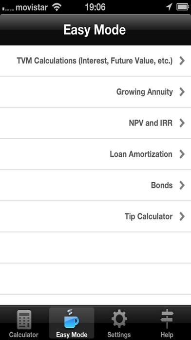 Financial Calculator Screenshot 3