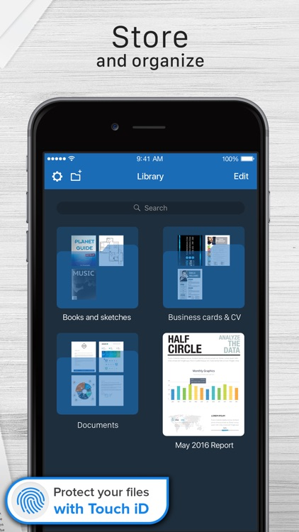 Scanner For Me - PDF Scan with OCR for Documents app image