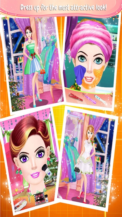 Christmas Party Hair Salon Spa Hairstyle Games By Jasmin Patel