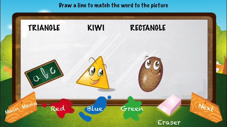 My First Words - Shapes and Fruits screenshot-3