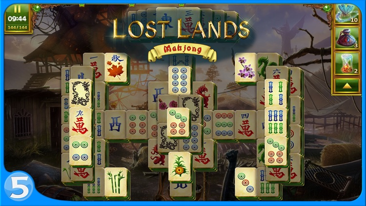 Lost Lands: Mahjong screenshot-4