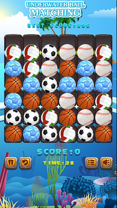 UNDERWATER BALL MATCHING screenshot two