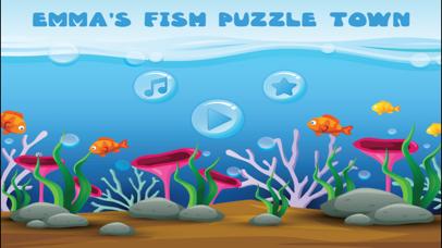 Emma Fish Puzzle Town screenshot 1
