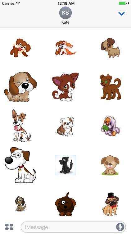 Cute Dogs Stick