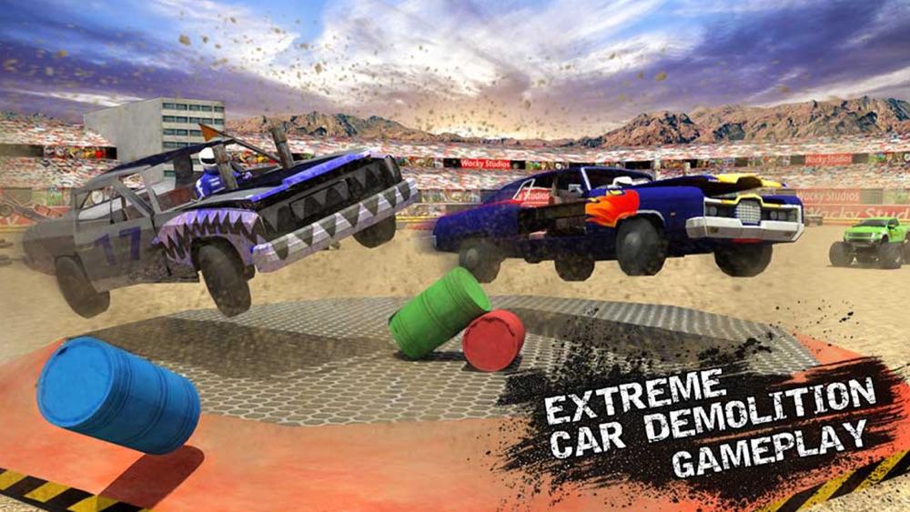 Xtreme Demolition Derby Racing Car Crash Simulator hack tool