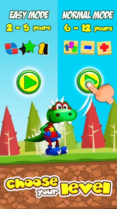 Dino Tim: Addition and subtraction for kids Screenshot 1