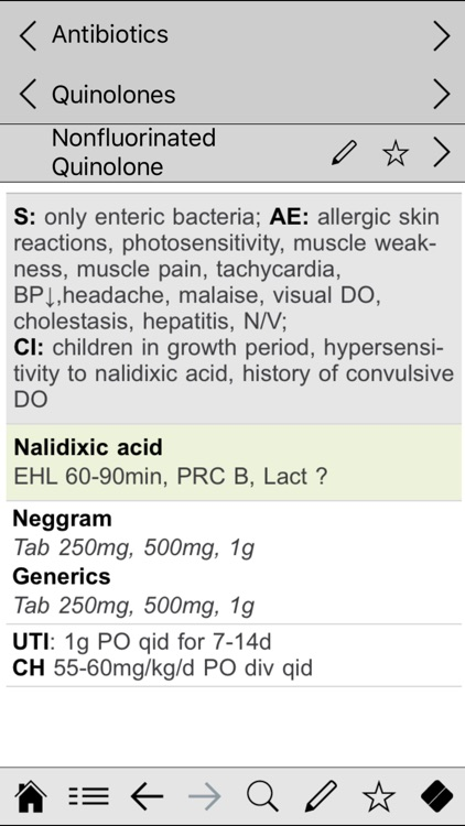 Antibiotics pocket screenshot-3