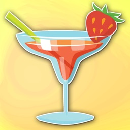 Cocktail Hour Bar Drinks Sticker Pack