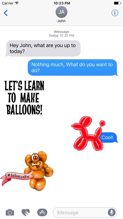Balloon Animals Sticker pack