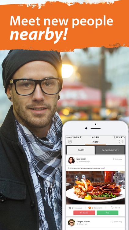 Buddypass Chat & Meet New People and Groups Nearby
