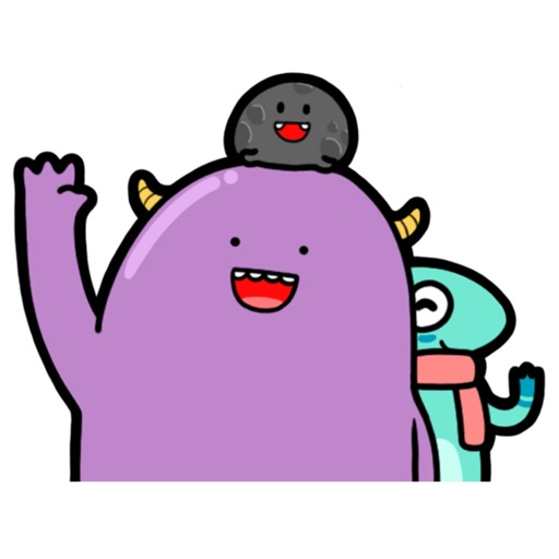 Characworld Friend Sticker