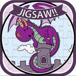 Dragons And Freinds Jigsaw Puzzle