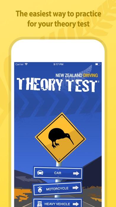 NZ Driving Theory Test screenshot one