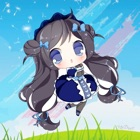 Dibujos para colorear princesa para el cabrito icon
