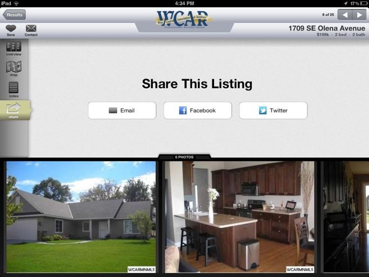 WCAR Homes For Sale for iPad screenshot-3