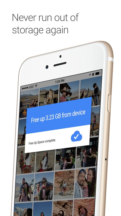 Google Photos - unlimited photo and video storage app image