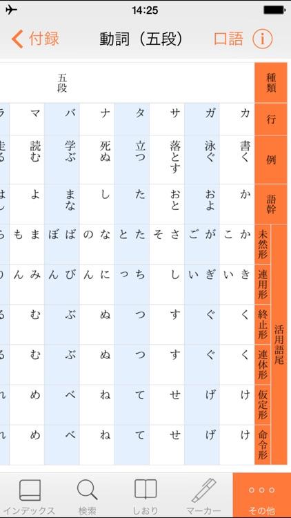 【優待版】三省堂国語辞典 第七版 公式アプリ screenshot-4