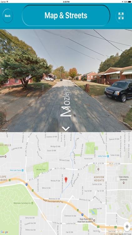 Atlanta City Georgia USA Offline Map Navigation screenshot-3
