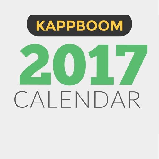 2017 Calendar By Kappboom