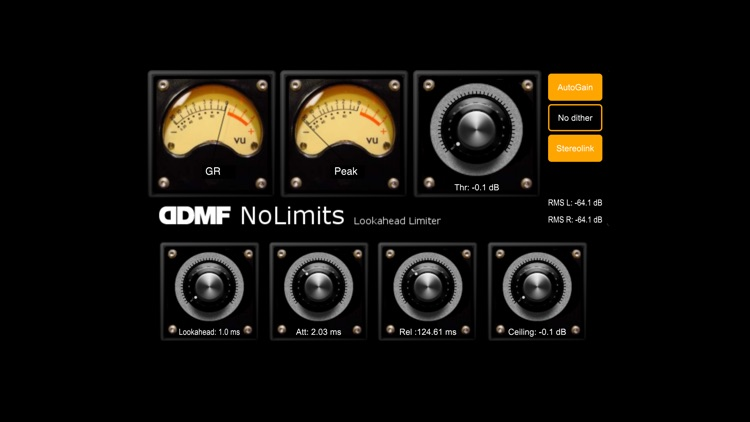NoLimits AU Limiter by DDMF