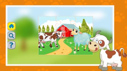 ファームジグソーパズル - 2〜3歳の無料教育キッズゲームのスクリーンショット3