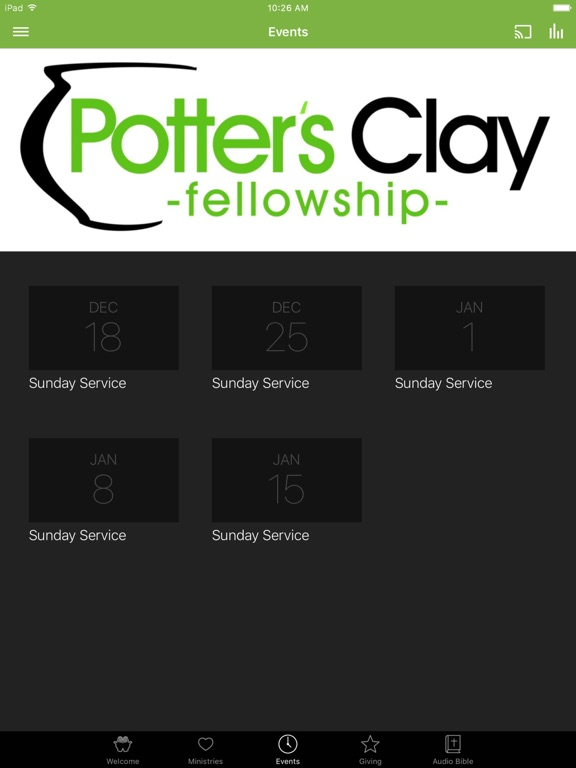 Potter's Clay Fellowship screenshot 6