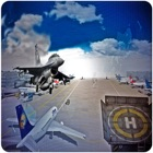 Jet Fighter Parking Airport : Real Simulation Game icon