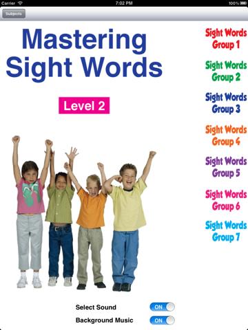 Mastering Sight Word Level 2 - náhled
