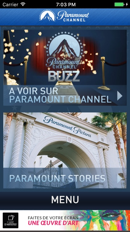 PARAMOUNT CHANNEL screenshot-4