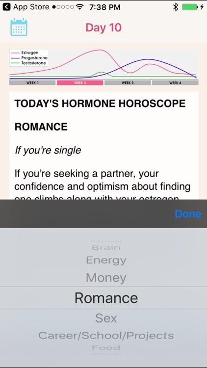 Hormone Horoscope Pro screenshot-3