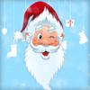 Jul Ramar: Xmas klistermärken, hälsningar