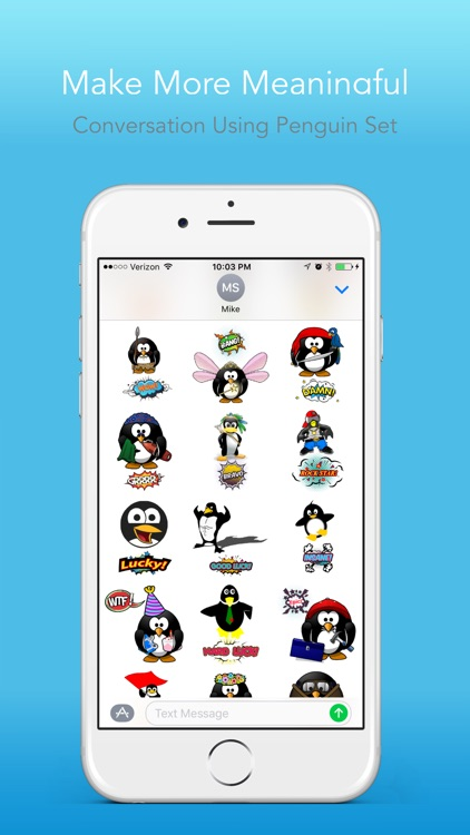 Penguin Lifemoji - Funny Emoji for Messaging screenshot-3