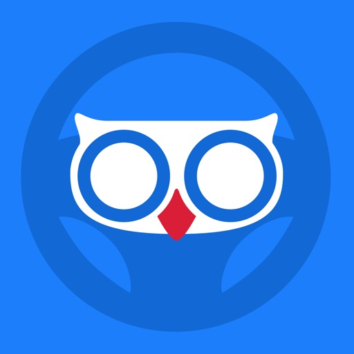 Hudway — HUD navigation app for night-time driving