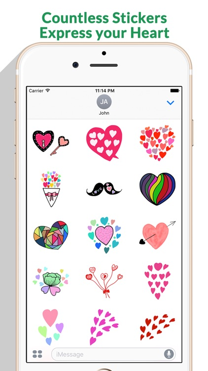Love - Lovely Doodle Stickers by StiPia