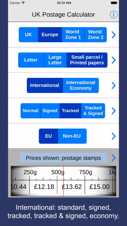 UK Postage Calculator 2017 for eBay and Royal Mail screenshot-4