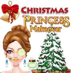 Christmas Princess MakeOverForKids