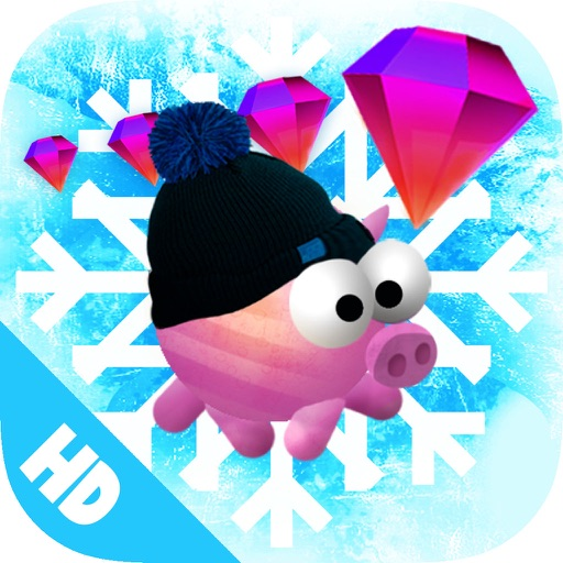 Lil Piggy Winter Edition HD - Animal Runner