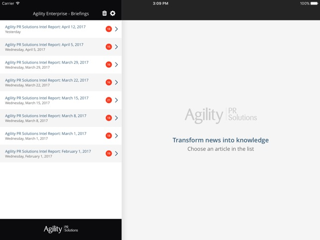agility pr solutions
