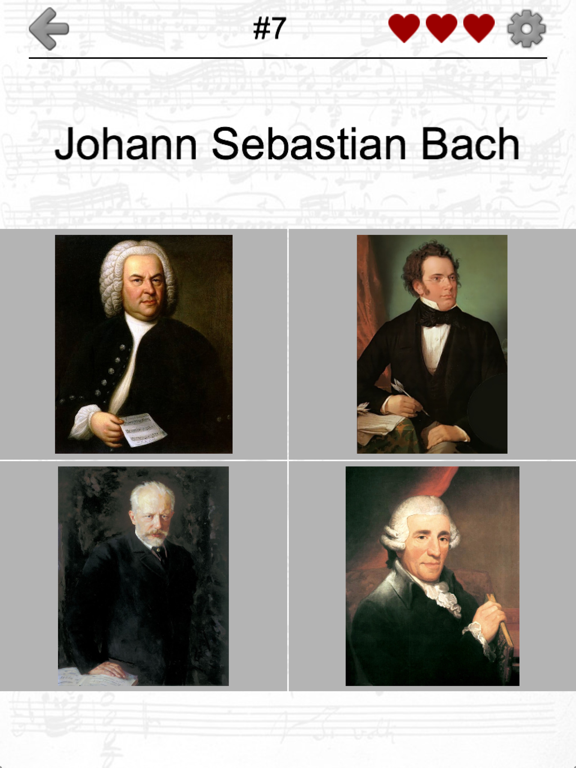 Famous Composers of Classical Music: Portrait Quiz screenshot 7