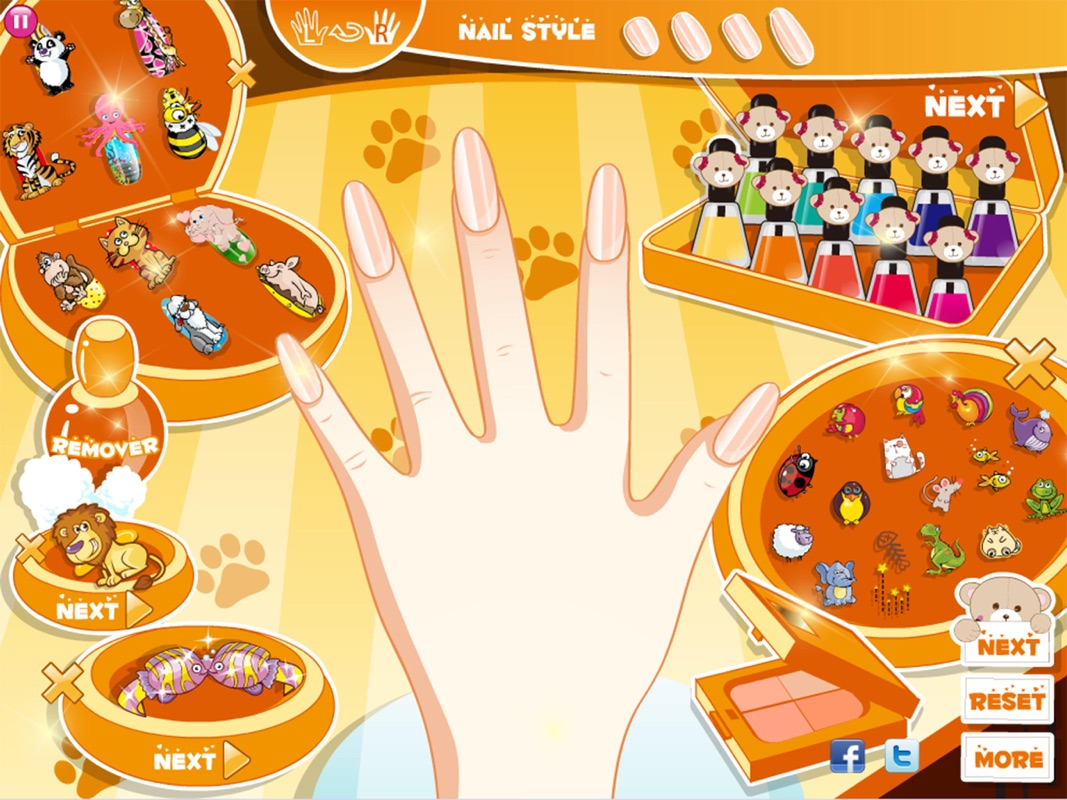 Princess Nail Salon Designs Girl Games For Free Online Game Hack