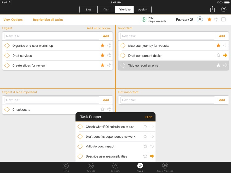 DASH Project & Task Management screenshot-4