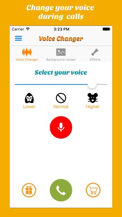 Call Voice changer Allogag