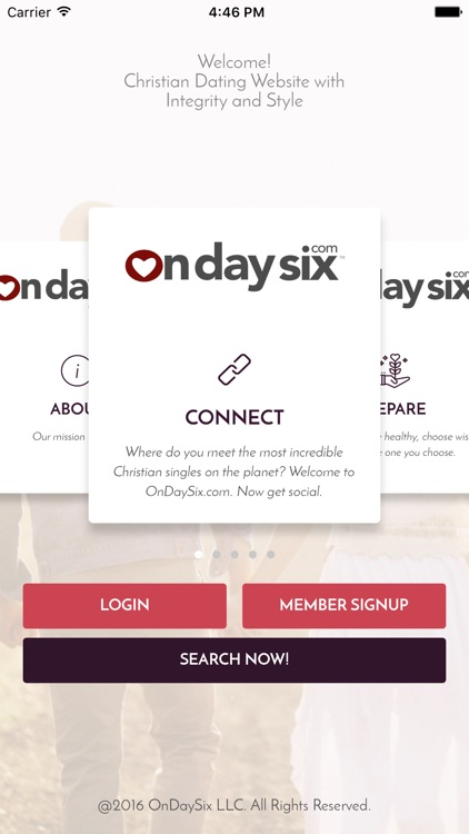 OnDaySix Christian Dating App