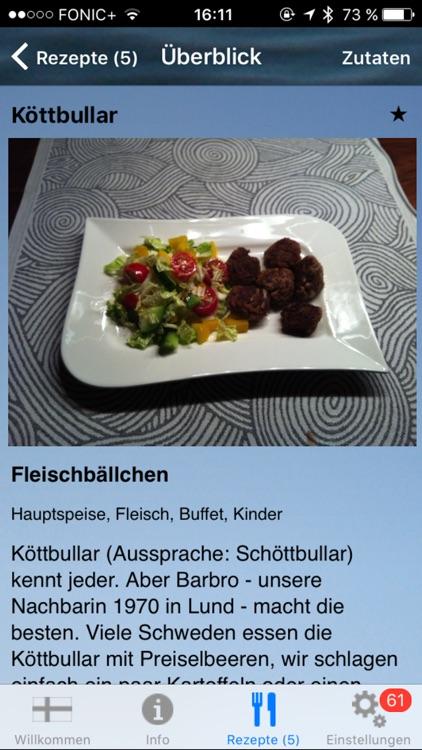 Köttbullar - Die Koch-App für das iPhone screenshot-3