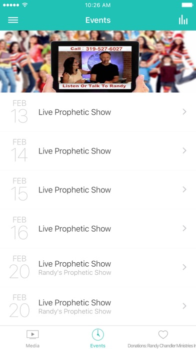 PGN - Prophetic Grace Network screenshot 2