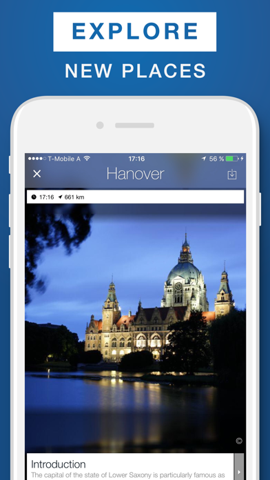 Hanover - Travel Guide & Offline Map screenshot one